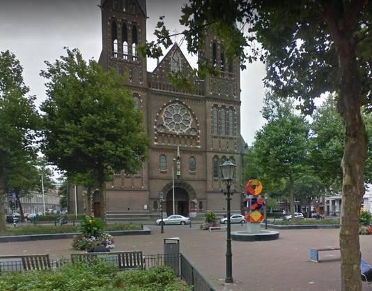 Het kunstwerk van Jan Goeting werd in 2015 op het Elandplein geplaatst.