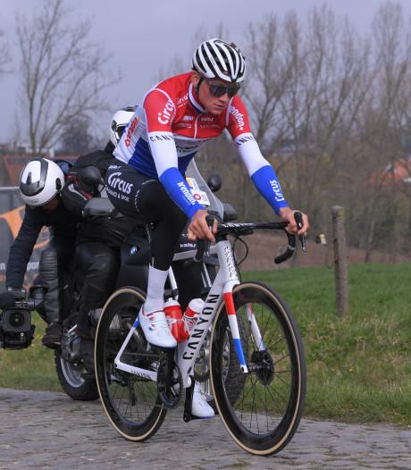 Van der Poel fietst alweer: 'Ik ben heel goed weggekomen'