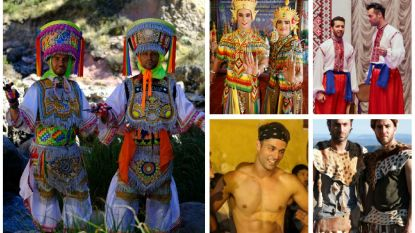 In beeld: Zo zag je dansbuddies Ish Aït Hamou en Jan Kooijman nog nooit