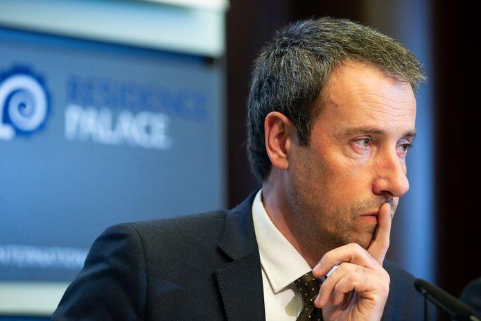 Minister van Defensie Philippe Goffin (MR)
