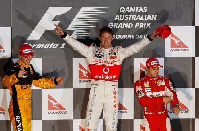 Jenson Button won in 2009 de Formule 1.