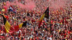 Orkestmeester Hazard en 40.000 uitzinnige fans: herbeleef het feestgedruis bij thuiskomst Duivels