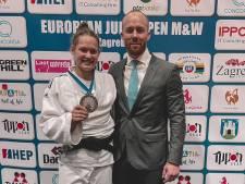 Eerste medaille judoka Joanne van Lieshout bij European Open; Lieropse wint zilver in Zagreb