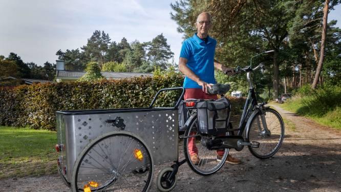 Harry (73) uit Bergeijk ontwierp een handige winkelwagen: ''s Nachts komen de beste ideeën'