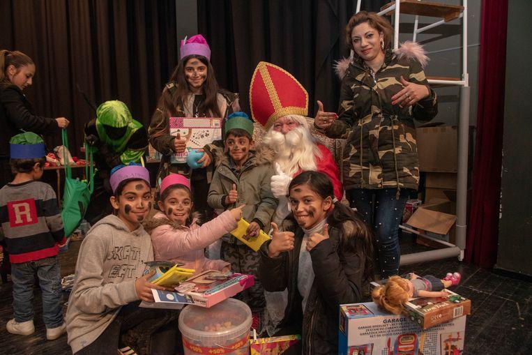 Archiefbeeld: Sinterklaas in Wetteren.