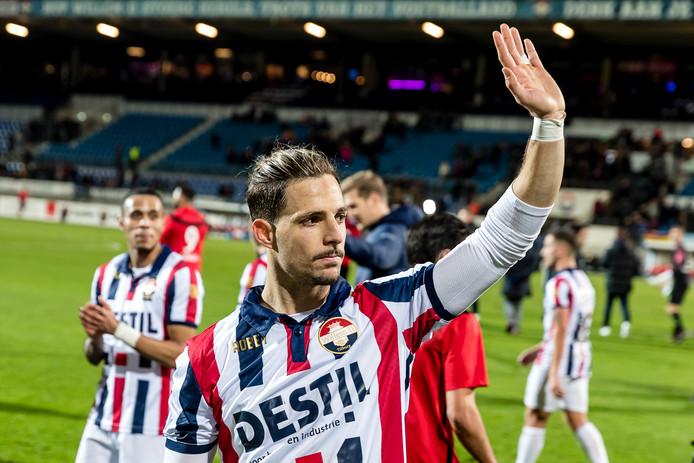 Fran Sol verlaat Willem II.