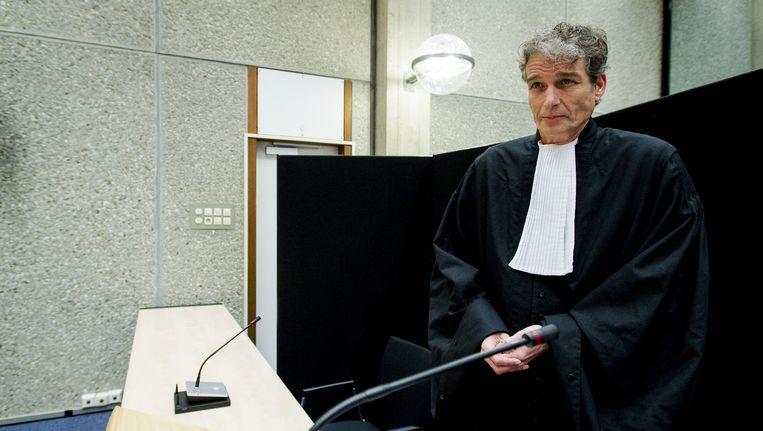 Stijn Franken, advocaat van Willem Holleeder. Beeld anp