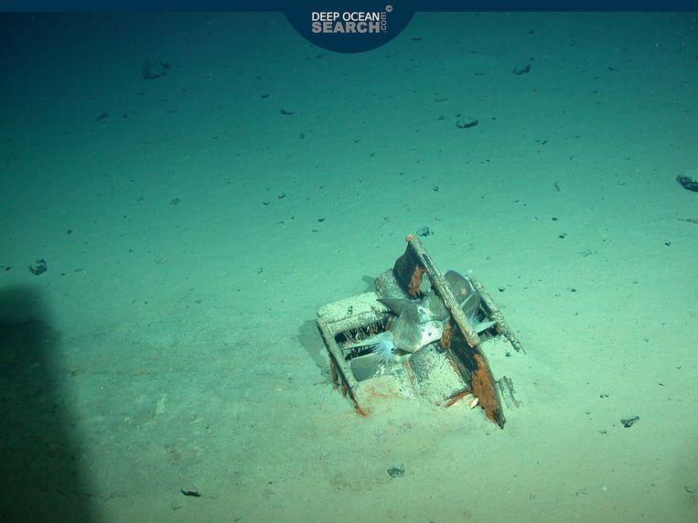 Ook de propellor van een van de Duitse torpedo's werd teruggevonden. Beeld Deep Ocean Search