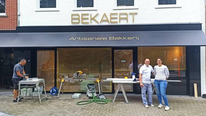 """Bakkerij Bekaert heropent anderhalf jaar na hevige brand: """"Een nieuwe start voor de bakkerij, maar ook voor mezelf"""""""