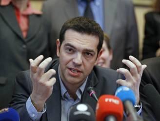 Links-radicale Tsipras houdt in Parijs vast aan Griekse onafhankelijkheid