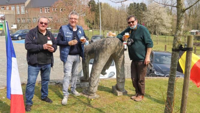 Kasseifeesten Zegelsem verbroederen met Les Amis de Paris-Roubaix