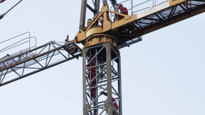 Doorgangsverbod in Rozenberg voor demontage torenkraan