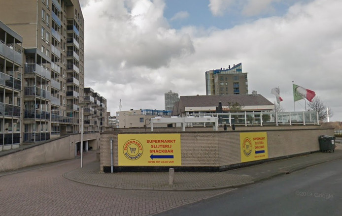 Supermarkt Schenkel in Spijkenisse.