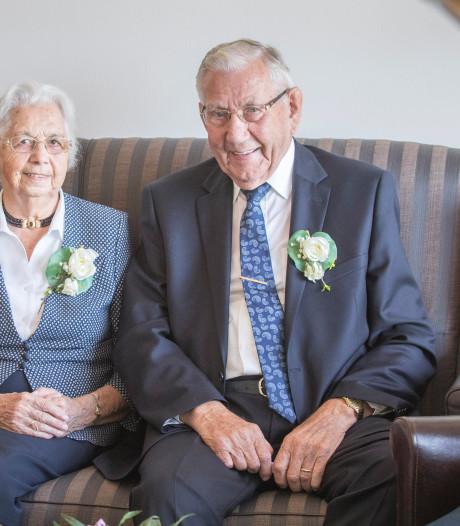 Jo en Arjaan Guiljam uit 's-Gravenpolder delen 65 jaar lief en leed