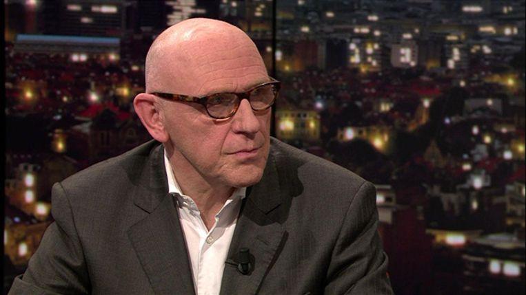Paul Bekaert, advocaat van de afgezette Catalaanse minister-president Puigdemont, vanavond in 'De Afspraak' op Canvas.