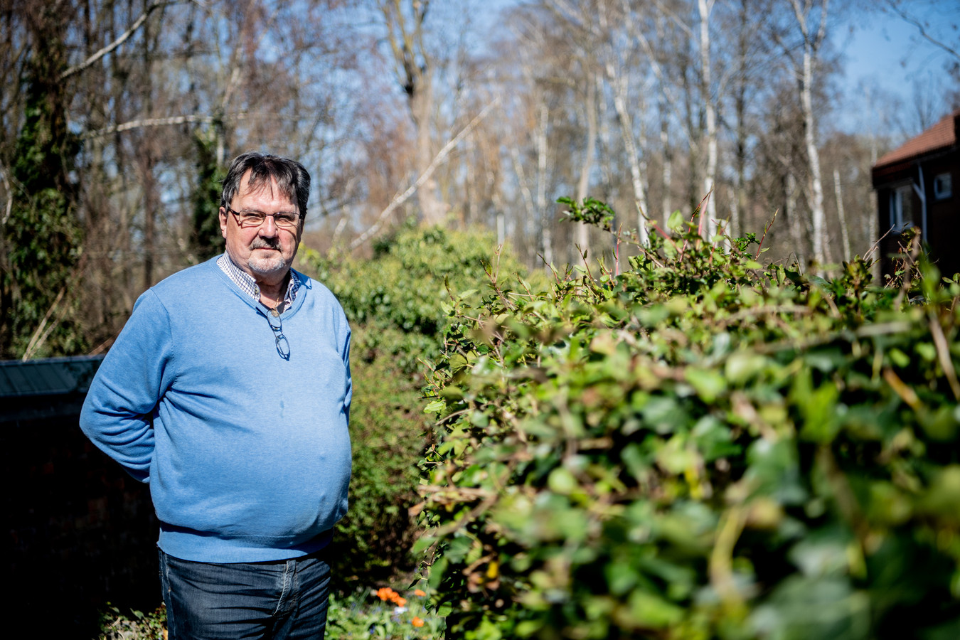 Freddy Savelkoul houdt van het groen en gaat vaak wandelen in de Schorre of op de dijk