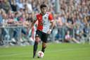 Bilal Basacikoglu in actie namens Feyenoord.