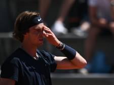 Nouvelle surprise à Roland-Garros: Andrey Rublev éliminé d'entrée