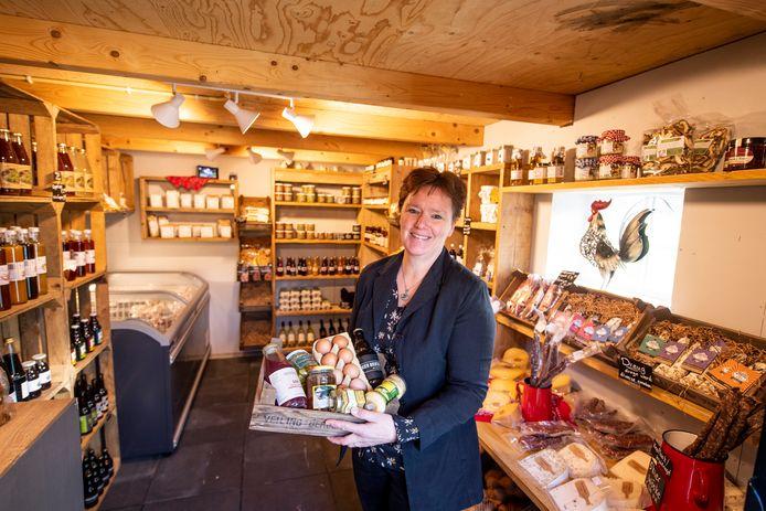 """Petra van der Aa in de winkel: """"Geen enkel product is in de fabriek gemaakt."""""""