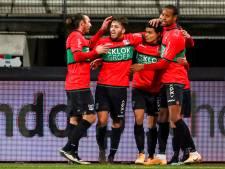 Barreto tovert in De Goffert, NEC met tien man langs Jong FC Utrecht