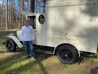 Chef van sterrestaurant Colette verkoopt ijsjes in oude ijskar