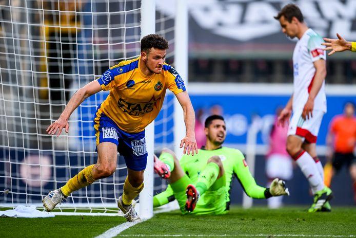 Louis Verstraete bracht Waasland-Beveren met 2 goals naar plek 17.