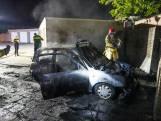 Opnieuw auto verwoest door brand in Eindhoven, vierde keer in vier dagen tijd
