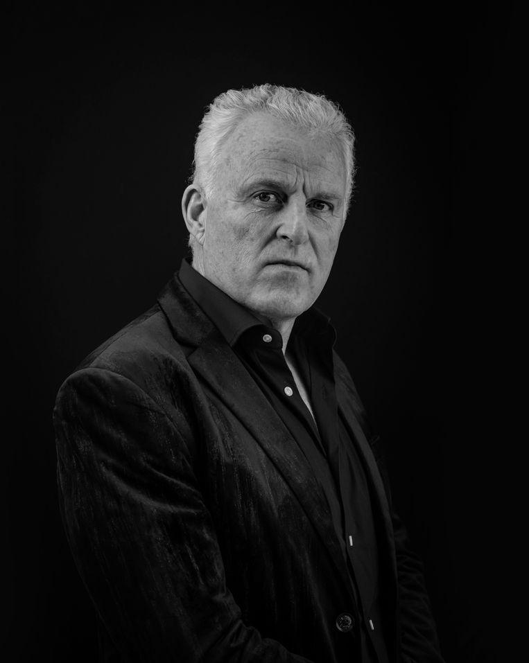 Misdaadverslaggever Peter R. de Vries in 2020. Beeld Dingena Mol / Hollandse Hoogte