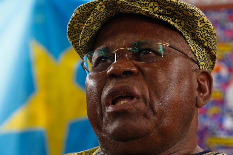Etienne Tshisekedi heeft zich een leven lang verzet tegen de machthebbers van Congo. Beeld EPA