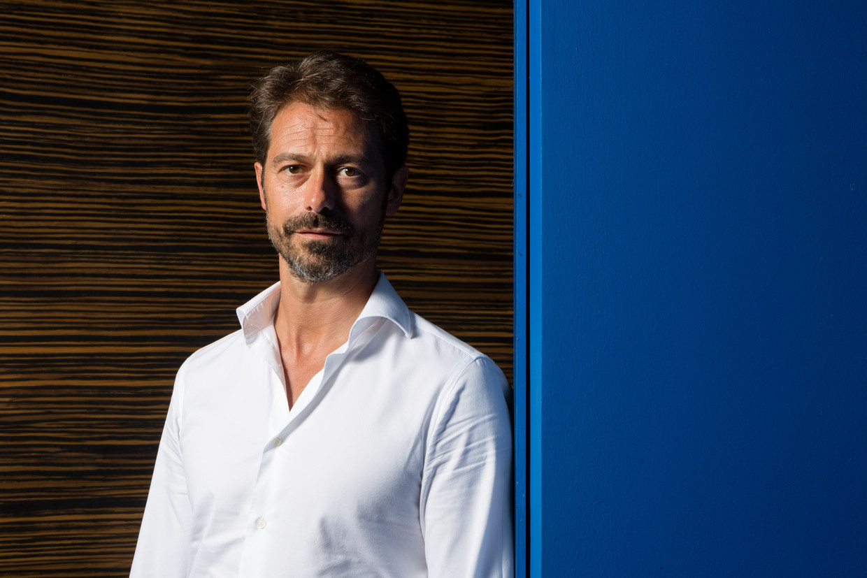 Soccer players agent Christophe Henrotay poses for the photographer during a photoshoot in Monte-Carlo, Monaco, Saturday 17 June 2017. BELGA PHOTO REBECCA MARSHALL Beeld BELGAIMAGE