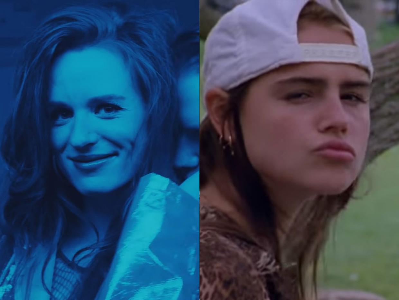 Merol en Olivia Lonsdale (in de clip van 'Drank & Drugs')