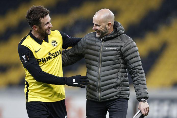 Miralem Sulejmani schakelde met Young Boys het Bayer Leverkusen van Peter Bosz uit in de Europa League.