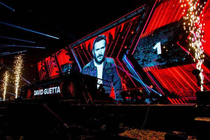 David Guetta toonde met een videoboodschap zijn dankbaarheid.