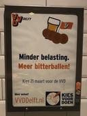 De lokale VVD is dol op bitterballen.
