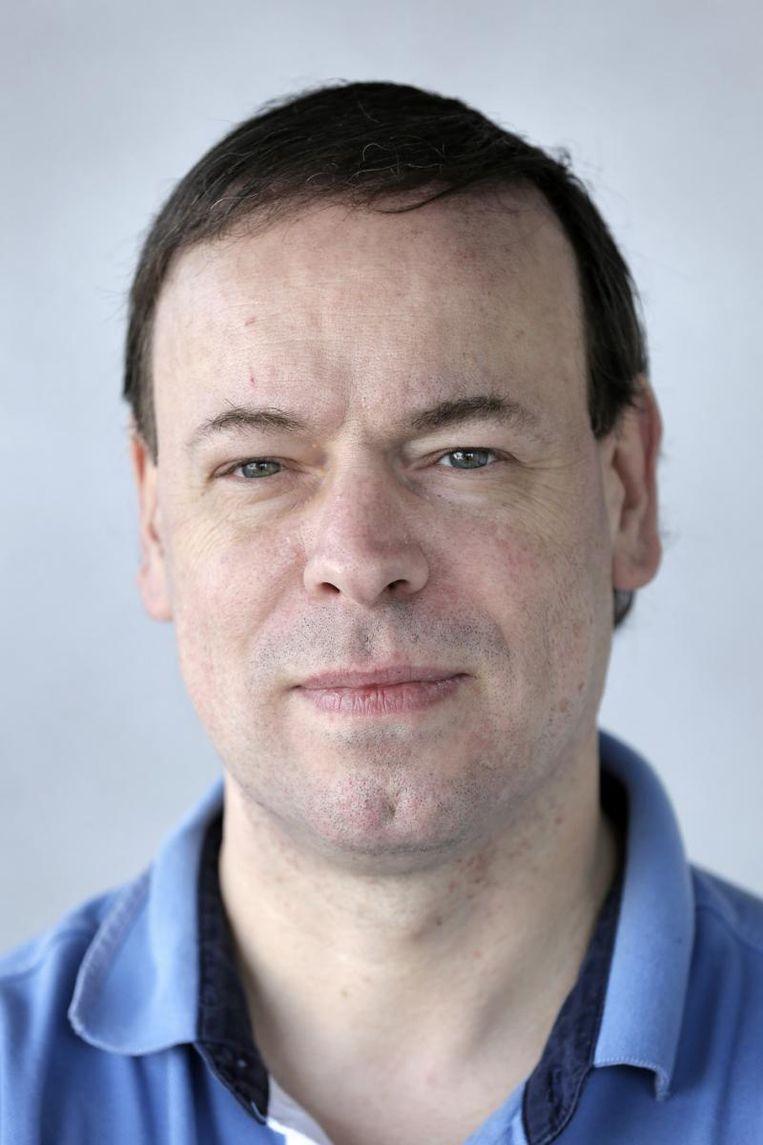 Bert Blocken, professor bouwfysica aan de KU Leuven en TU Eindhoven, met specialisatie aerodynamica. Beeld KU Leuven