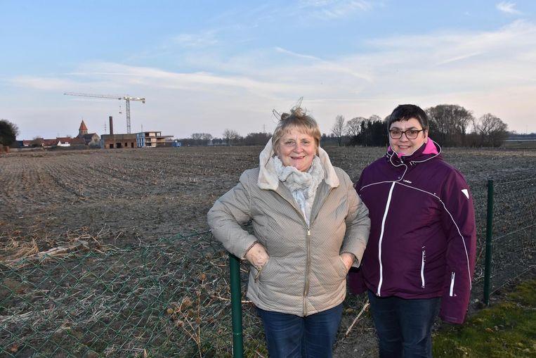 Brigitte Demeester en Jo Allegaert zien de komst van het bouwproject niet zitten.