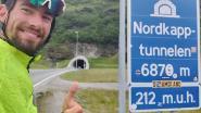 "Fietsers bereiken Noordkaap: ""Ruim 4.000 euro tegen kanker"""