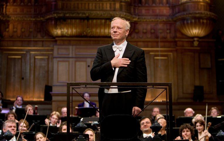 Dirigent Bernard Haitink. Beeld ANP