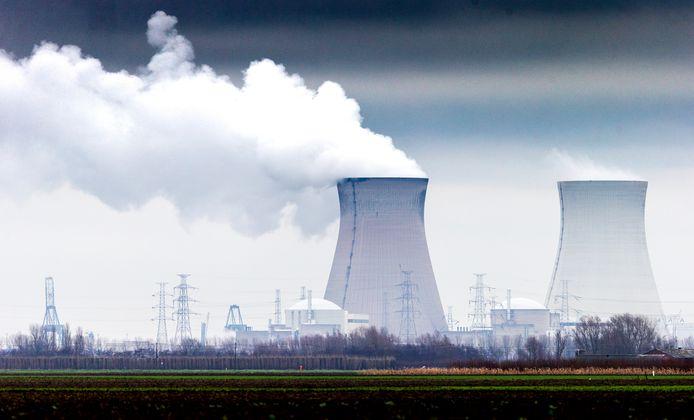 De kerncentrale in het Belgische Doel.