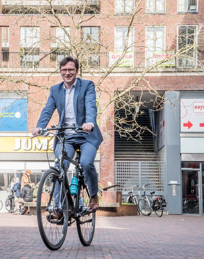 Stephan Brandligt wethouder Duurzaamheid Delft