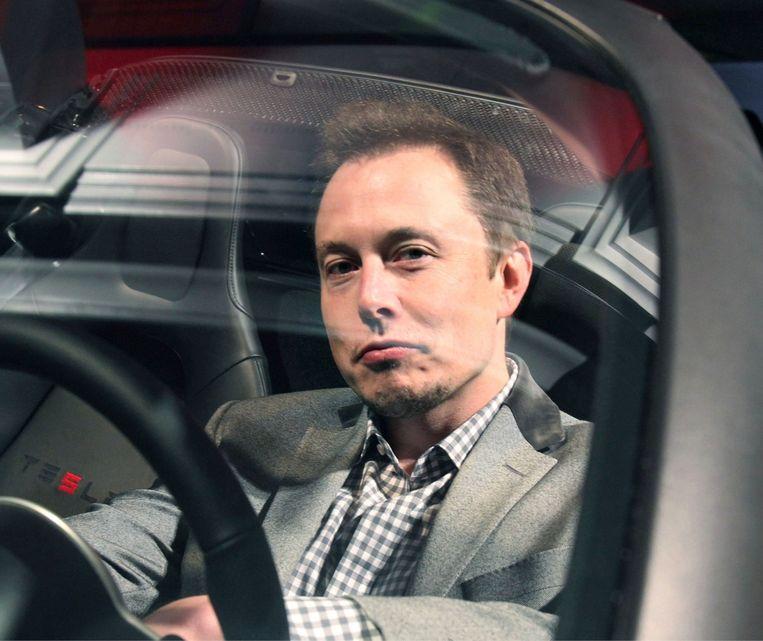 Tesla is niet zo ecologisch als Elon Musk ons wil doen geloven. Beeld