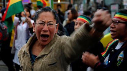 "Opnieuw protest in Bolivia nadat Morales presidentsverkiezingen ""wint"""