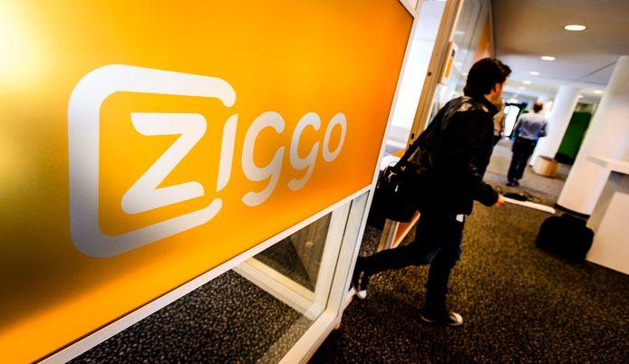 Het hoofdkantoor van Ziggo, leverancier van (digitale) televisie en radio, internet en telefonie via de kabel.