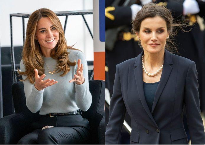 Kate Middleton ou Letizia d'Espagne?