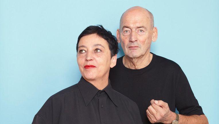 Beatrix Ruf en Rem Koolhaas Beeld Daniël Cohen