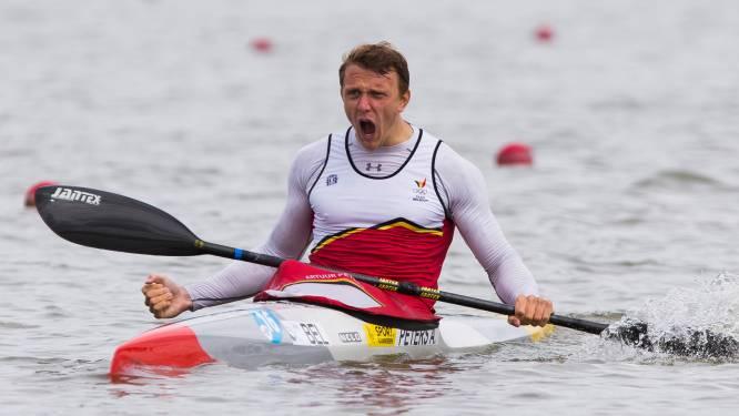 Artuur Peters wint A-finale K1 1.000m en pakt olympisch ticket voor Tokio
