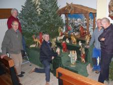 Wel de kerststal maar geen mis in kerken die sluiten