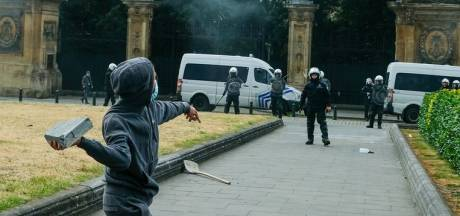 """La police ironise sur les violences et les pillages: """"Une magnifique après-midi à Bruxelles"""""""