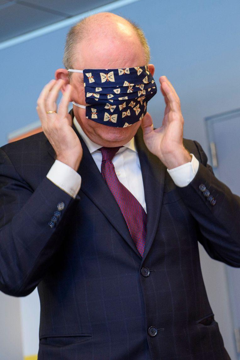 Minister Koen Geens. Beeld Photo News