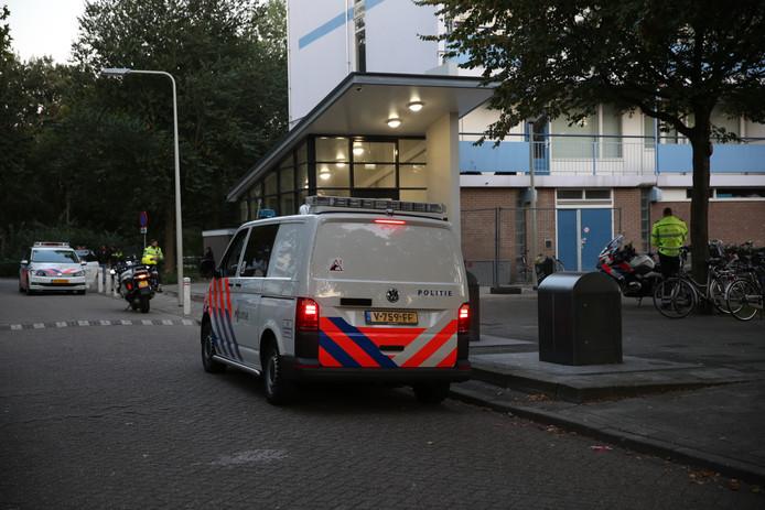 De man liep met het wapen door de Heiningen in Bergen op Zoom.